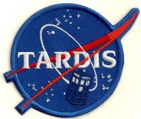 TARDIS Embroidered Patch